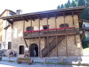 Дом Тициана в Доломитах
